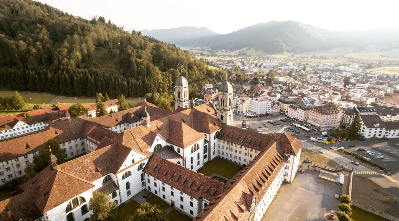 Fog Town Switzerland